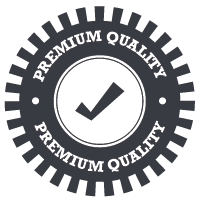 Premium quality welding badge